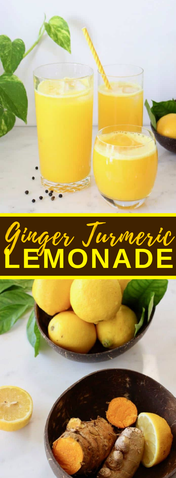 Ginger Turmeric Lemonade Recipe #heatlthydrink #stimulate