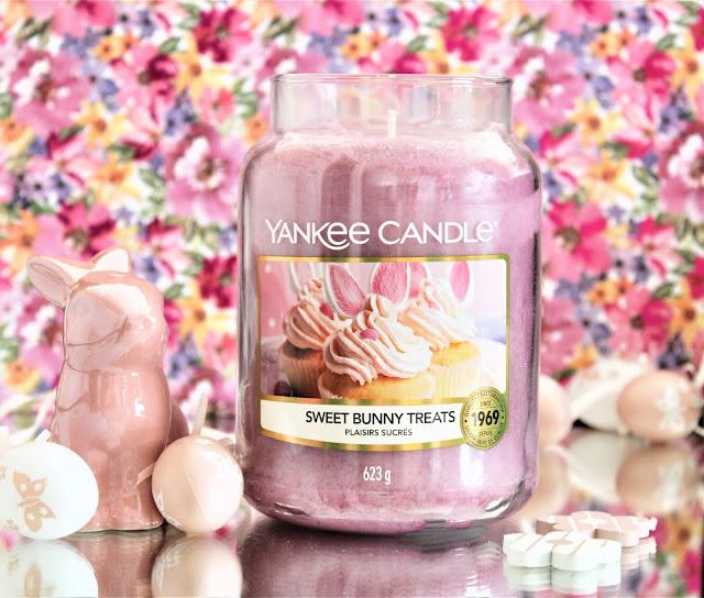 Yankee Candles Plaisirs Sucrés avis, plaisirs sucrés yankee candle, bougie pascale yankee candle, yankee candle pâques, sweet bunny treats yankee candle, nouveau parfum yankee candle, bougie parfumé pâques