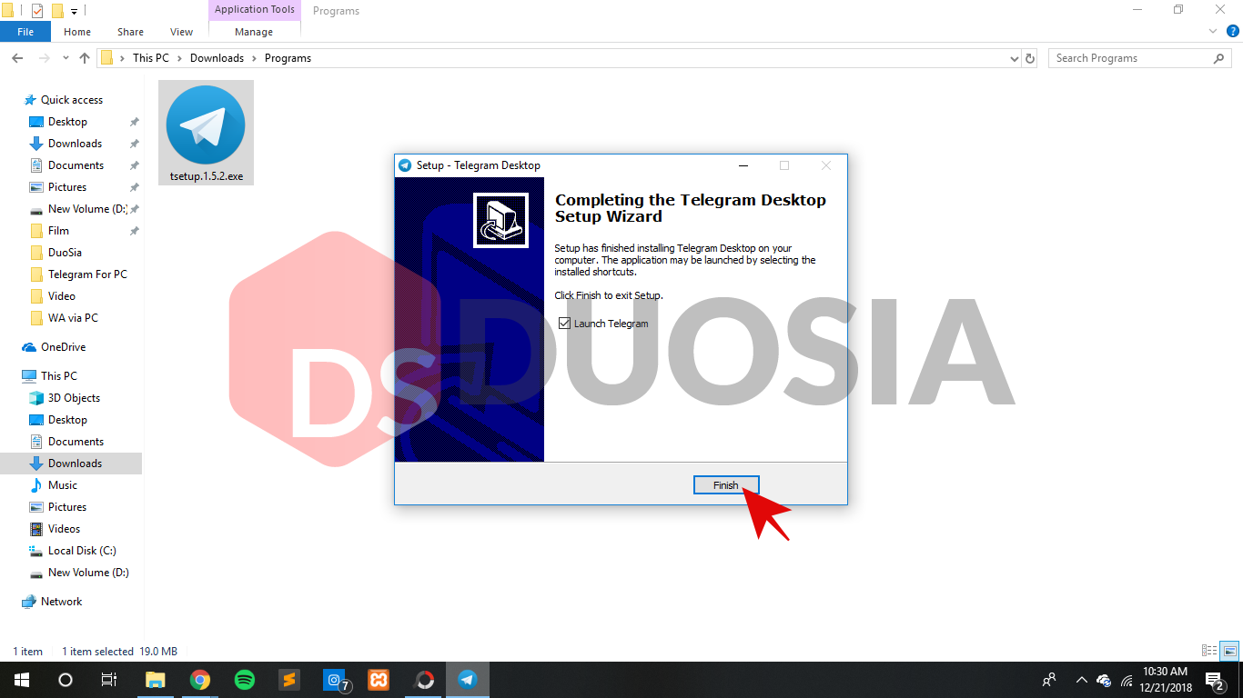 tutorial download telegram versi pc
