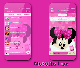 Minnie 2 Theme For YOWhatsApp & Fouad WhatsApp By Natalia Luz