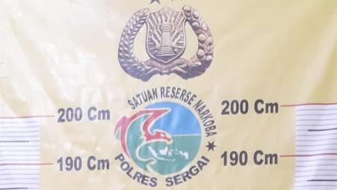 Sat Narkoba Polres Sergai Tangkap Kurir Sabu, 0,47 gram Diamankan