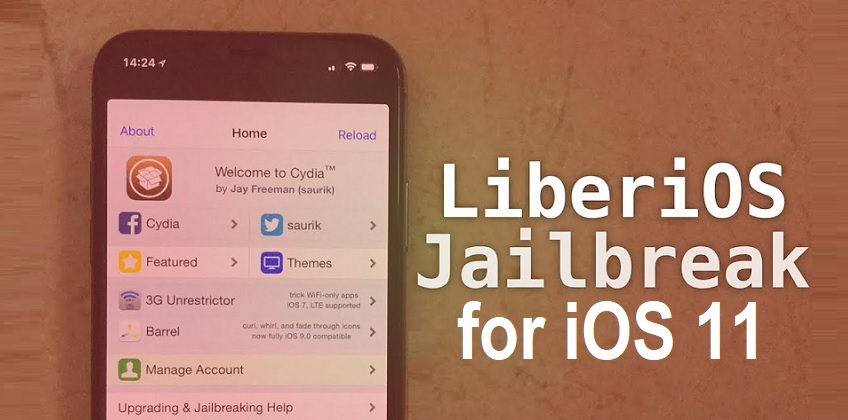 LiberiOS Jailbreak for iOS 11