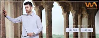 Almirah reveals Wasim Akram 2020 Kameez Shalwar Collection