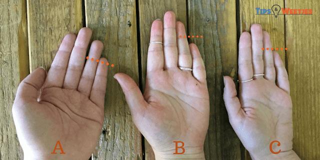 ما هو طول خنصرك مقارنة ببنصرك؟ هذا ما يفصح به عن شخصيتك