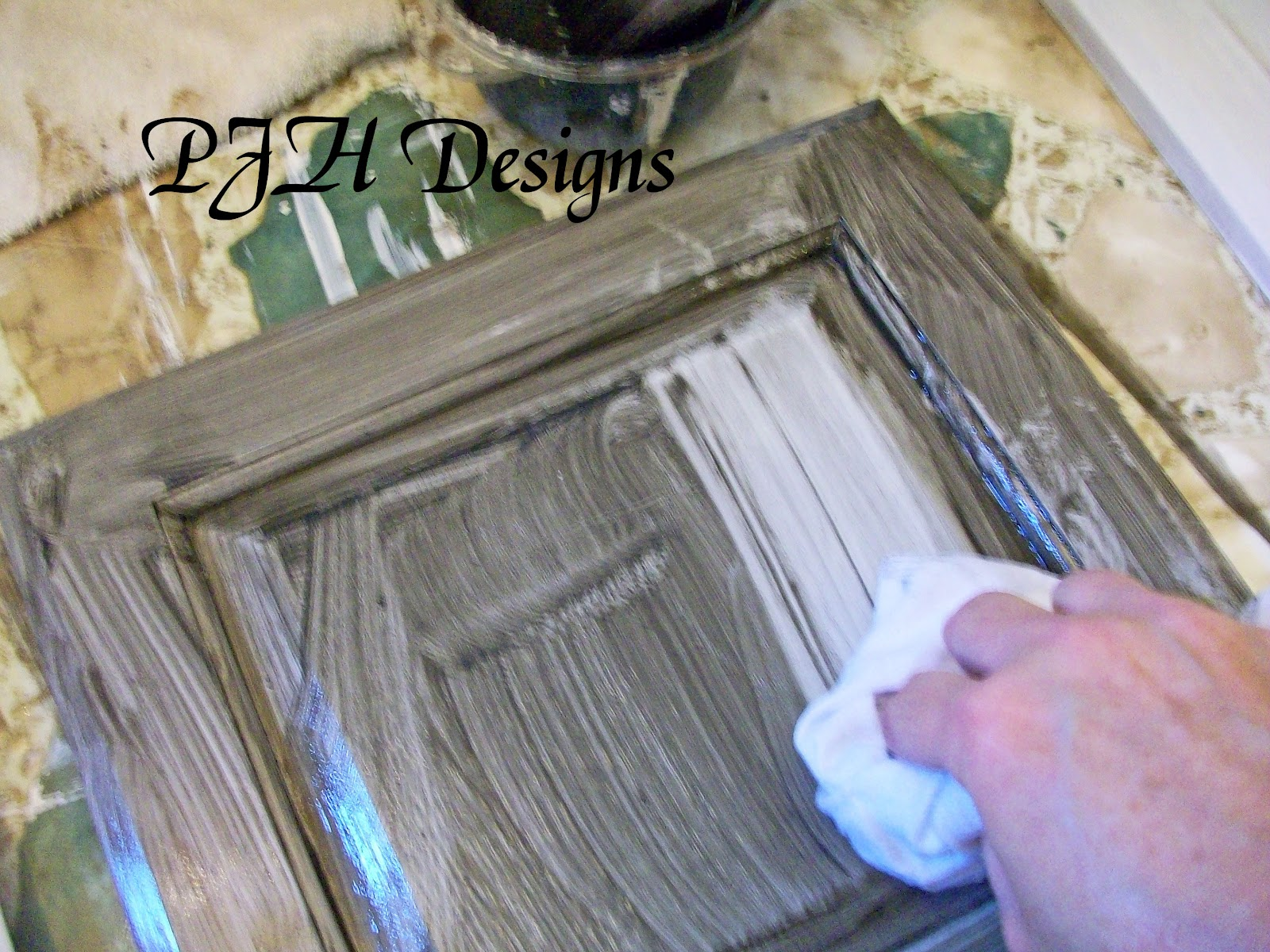 Diy Painting Kitchen Cabinets Antique White Pjh Designs Hand Painted Antique Furniture Kitchen