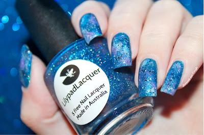 Galaxy Nails // Nail Art