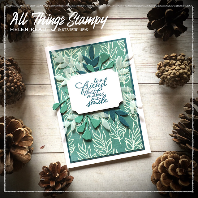 Forever Fern Greenery Suite Stampin Up Allthingsstampy
