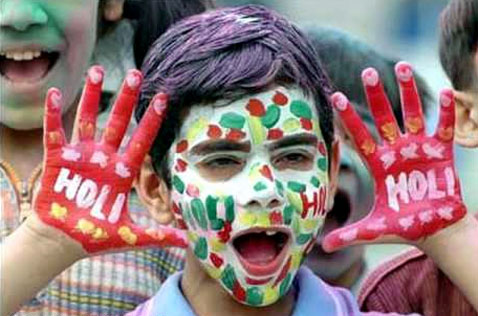 Funny Holi Wishes in English