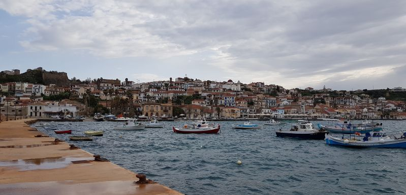Koróni-messinische Hafenstadt auf dem Peloponnes