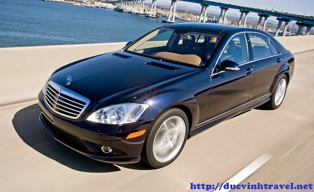 Cho thuê xe Mercedes S550 VIP giá ưu đãi tại Đức Vinh