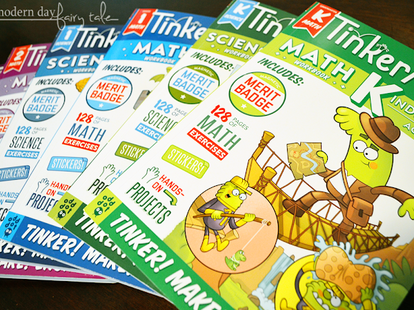 Encourage a Love of Learning & STEM with TinkerActive Workbooks! #momsmeet #tinkeractiveworkbooks