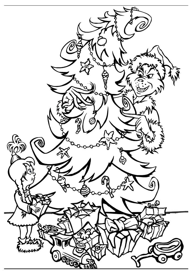 Crystal P Fitness and Food: FREE Grinch Colouring Page