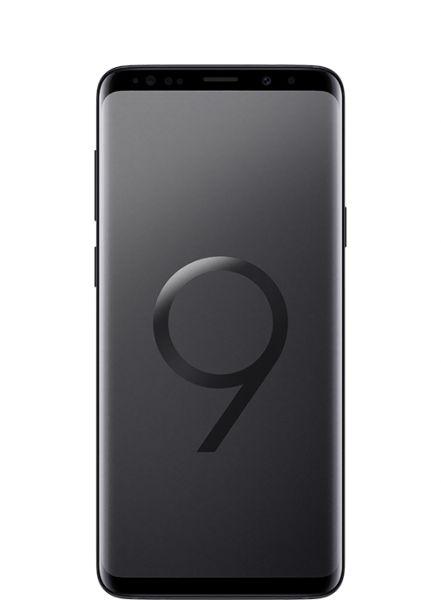 سامسونج جلاكسي اس 9+ شريحتين اتصال - 64 جيجا, 6 جيجا رام, الجيل الرابع ال تي اي, اسود - نسخة الشرق الاوسط