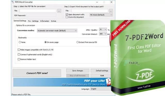 PDF to Word Converter 3.9  crack full version