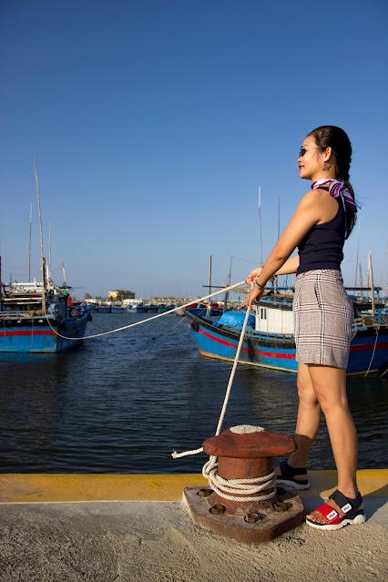 Khám phá cảng cá Đông Tác ngày tết