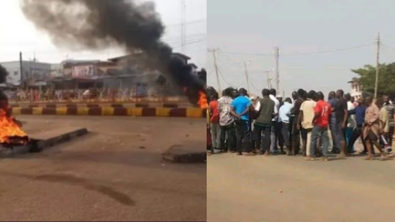 Hausa Traders Storm The Streets In Protest As SARS Kill One In Ogun