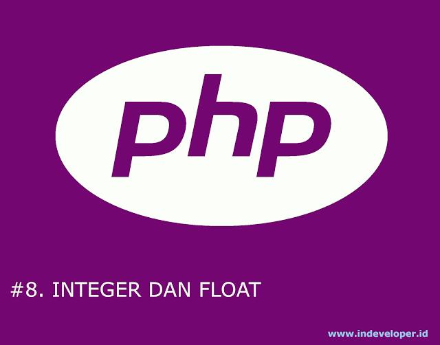 Tutorial PHP - Belajar Tentang Number pada PHP