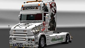 Call Of Duty skin for Scania T