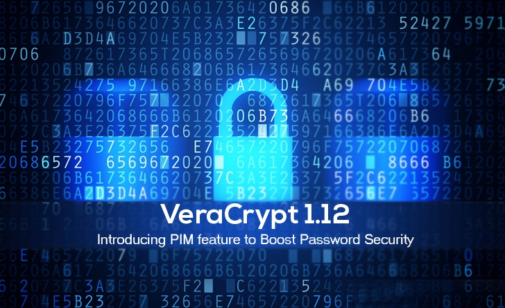 Encryption Software VeraCrypt 1.12 Adds New PIM Feature To Boost Password Security