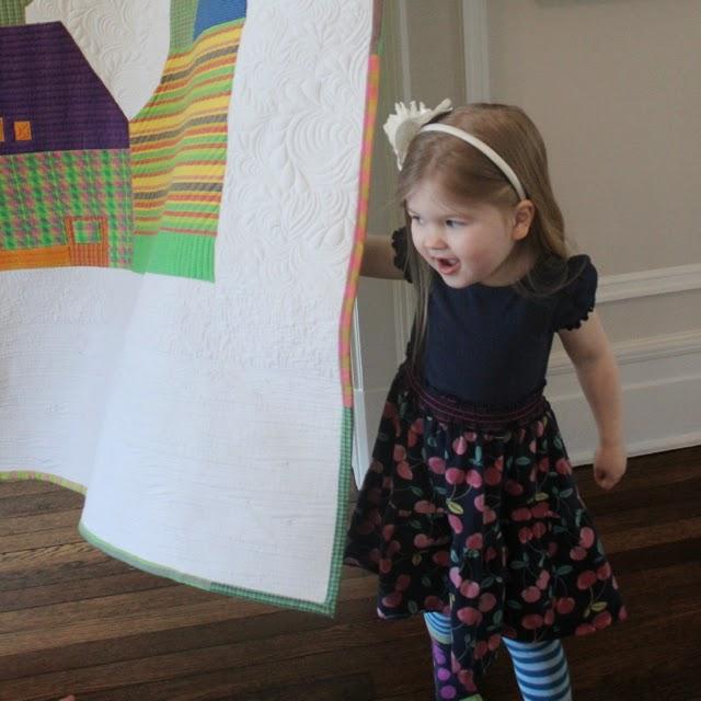 Rachael Rabbit Quilt Hanging Solution