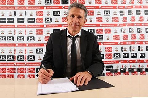 HLV Claude Puel bị Southampton sa thải