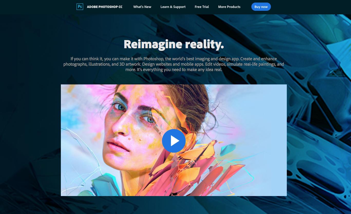 Best Web Design Tool For New Digital World Adobe Photoshop Cc Adobe Xd Sublime Text Brackets Sketch Creotopi Tutorial