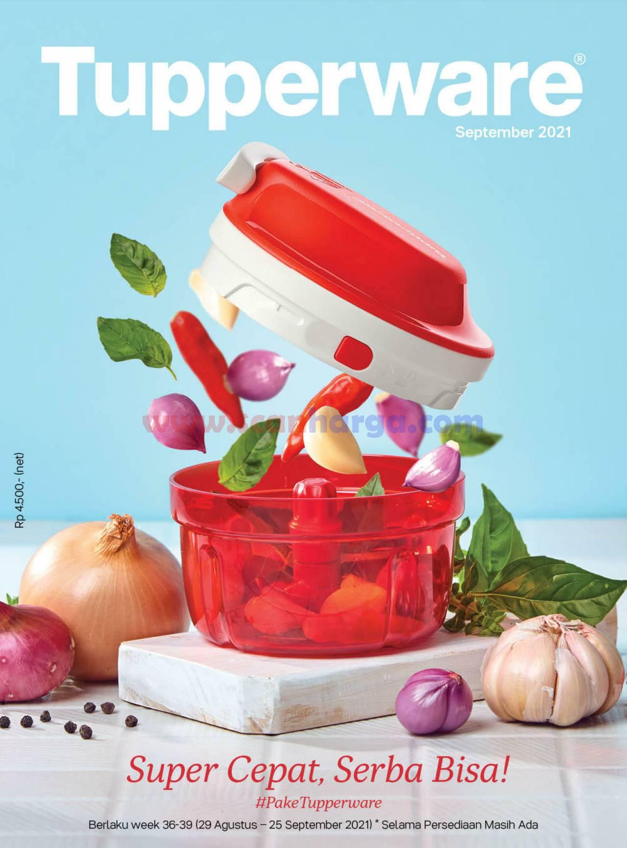 Katalog Tupperware Brosur Promo September 2021