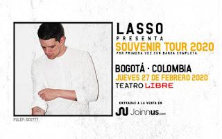 Concierto de LASSO en Colombia