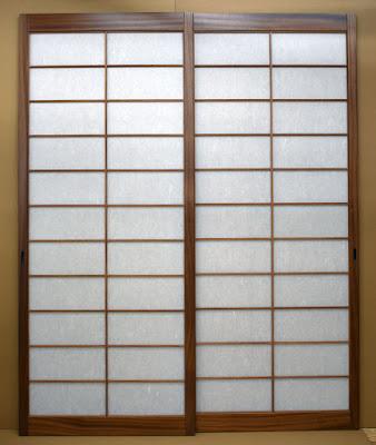 Japanese shoji screens