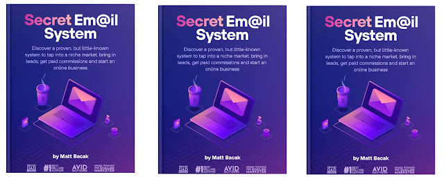 1. Secret email system ebook