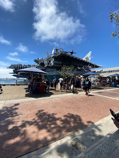 seaport village, San Diego, uss midway museum