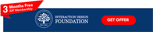 Interaction Design Foundation IDF  Free Membership Offer