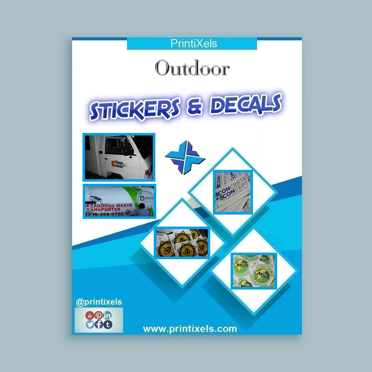 Customized Outdoor Stickers & Decals