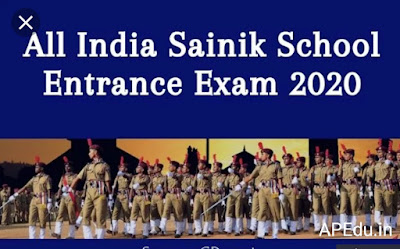 All India Sainik Schools Entrance Exam
