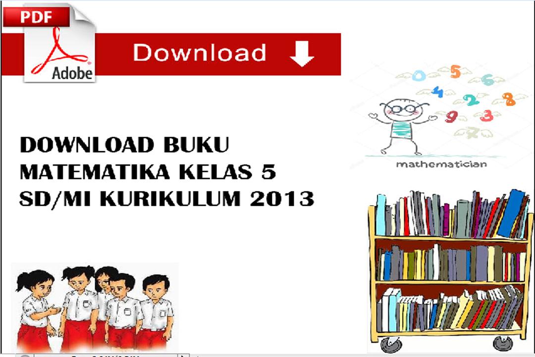 Buku Matematika Kelas 5 SD/MI Pdf