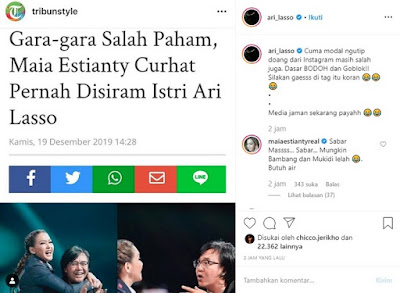 ari lasso vs tribunnews