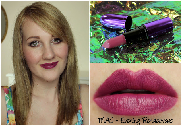 MAC Evening Rendezvous lipstick swatch