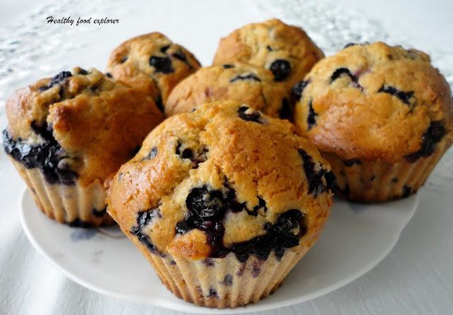 Zdrowe muffinki z owocami