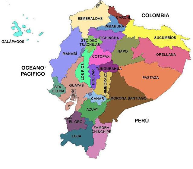 limites provincia guayas