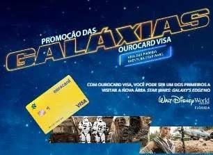 Cadastrar Promoção das Galáxias Ourocard Visa