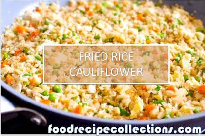 HOW TO MAKE FRIED RICE CAULIFLOWER