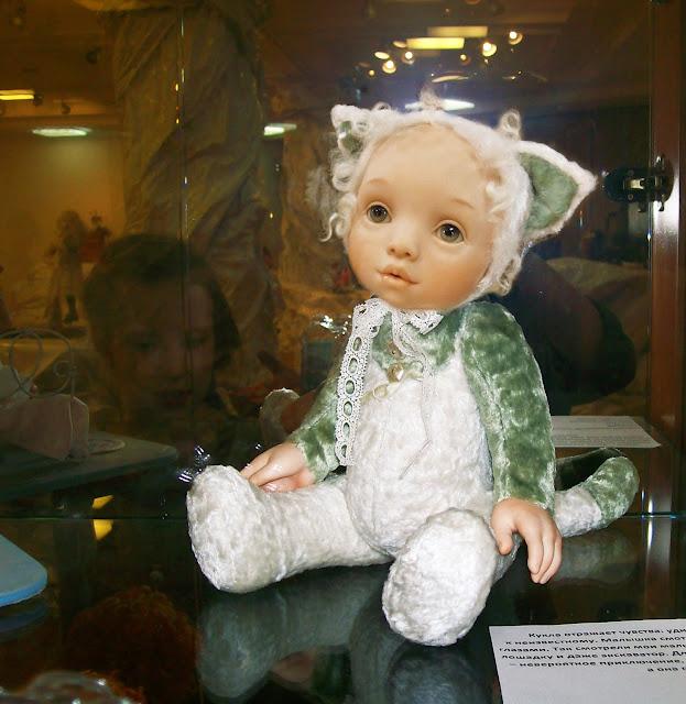 """Выставка авторской куклы в Самаре """"Куклы. Эмоции. Чувства."""", """"Мурочка"""". Автор Татьяна Малушкина (Самара)"""