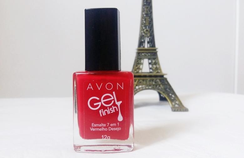 Unha da Semana: Esmalte em gel vermelho desejo Avon