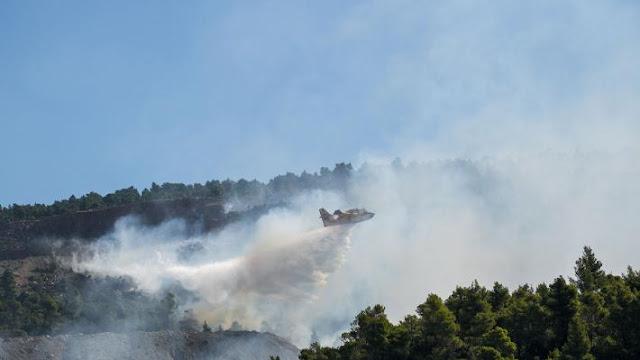ΚΚΕ: Ανακοίνωση για την καταστροφική πυρκαγιά στην Εύβοια