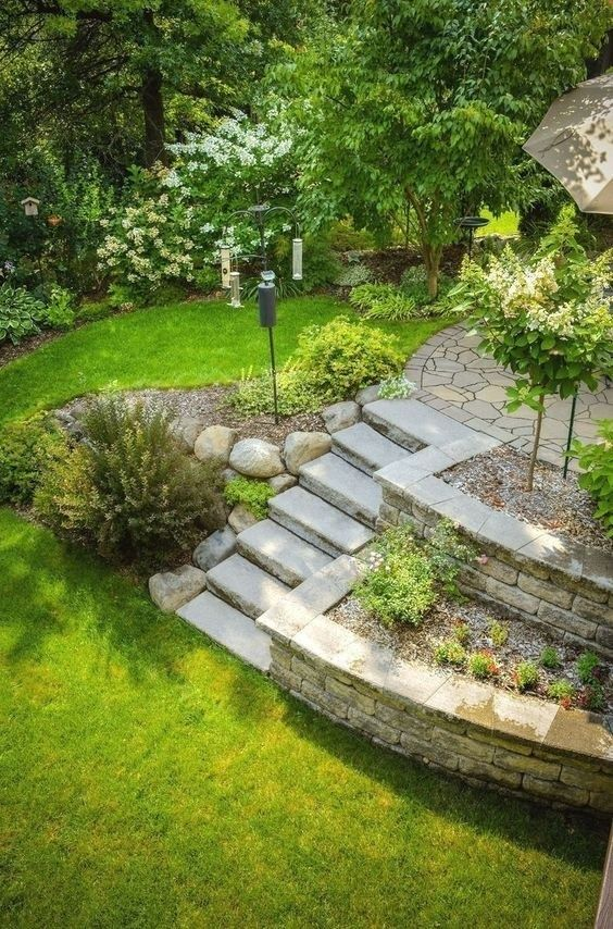 awesome large backyard landscaping ideas on a budget