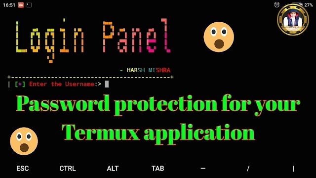 Set A Password Protect In Your Termux App Very Easily...!!