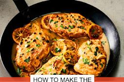 Healthy Charred Lemon Chicken Breast Recipe