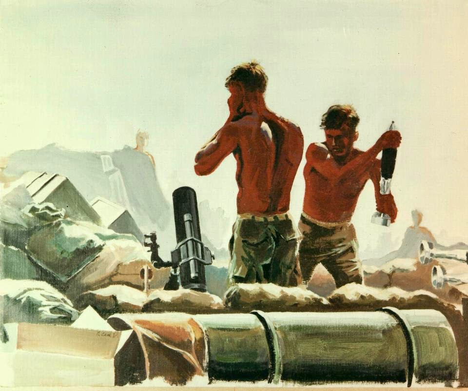 Outgoing, Vietnam 1967 by Michael R. Crook