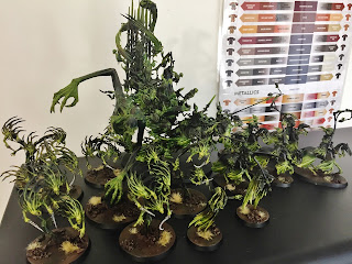 Spirit Hosts age of sigmar full army Malignants
