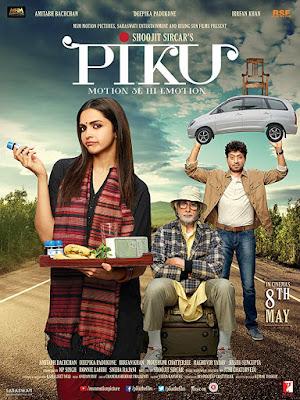Piku 2015 Hindi 720p BluRay 900MB